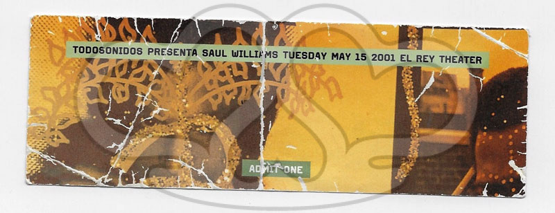 2001.5.15_SAUL WILLIAMS