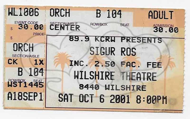 2001.10.16_SIGUR ROS