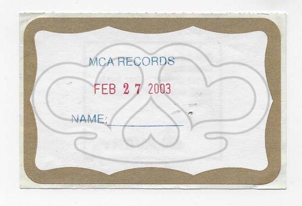 MCA RECORDS_2003_1